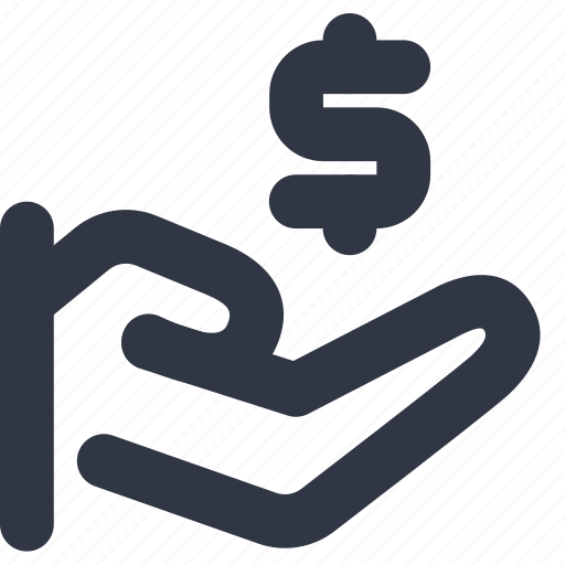 care, charity, donation, money icon