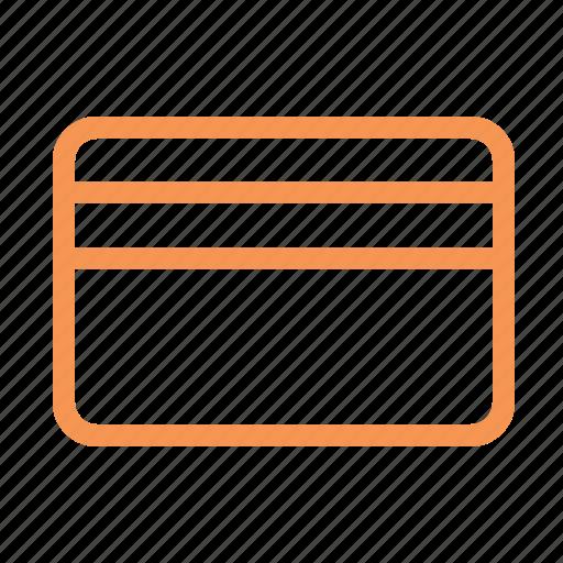 card, finance, line icon
