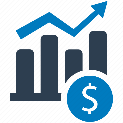 growth, income, investment, money, profit icon