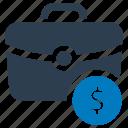 finance, money, money bag icon