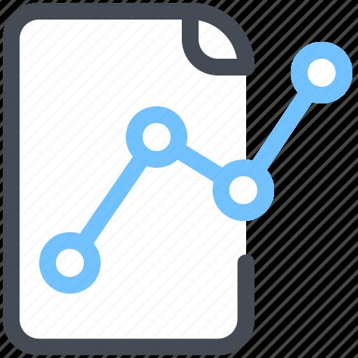 analystics, document, finance, graph, report, statistics icon