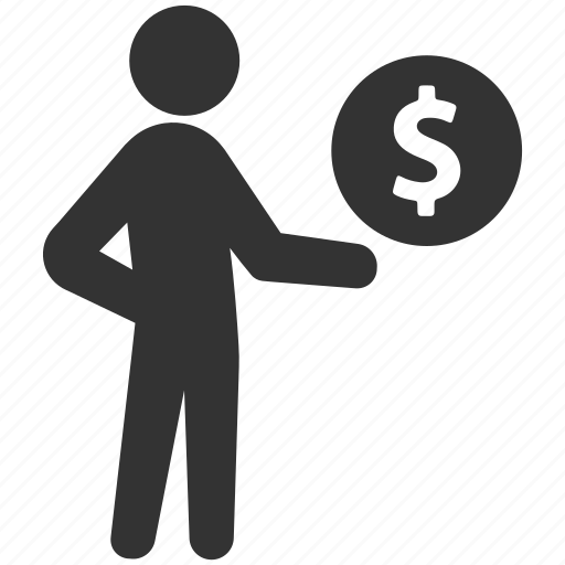 business, dollar, earnings, finance, income, money, profit icon