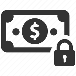 dollar, finance, money, payment, safe, secure, secure payment icon