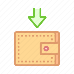 feed, finance, income, money, purse, wallet icon