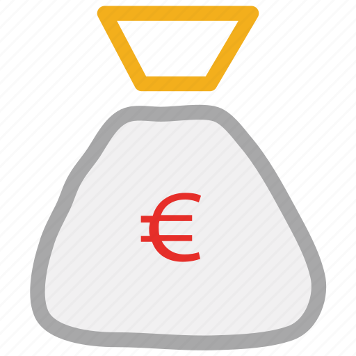 money bag, pouch, sack icon