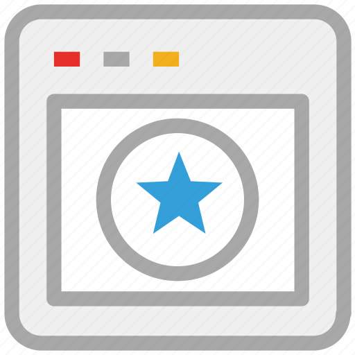 browser, display, internet, website icon
