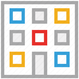 bank, building, office, property icon