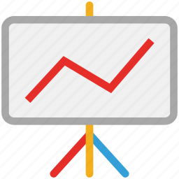 ascending, benefit, business, presentation icon