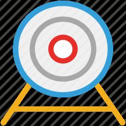 aim, dart board, goal, target icon