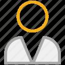 man, person, profile, user