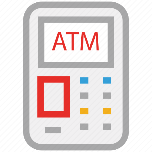 atm, atm machine, bank, cash icon
