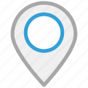 gps, location pin, locator, navigation icon