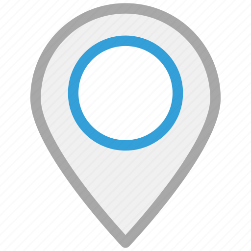 gps, location pin, locator, navigation icon