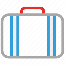 bag, briefcase, business bag, suitcase icon