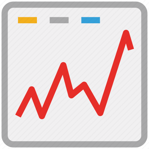 graph, online business, online business report, webpage icon