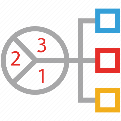 business, diagram, hierarchy, structure icon