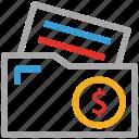 file folder, folder, business folder, financial files