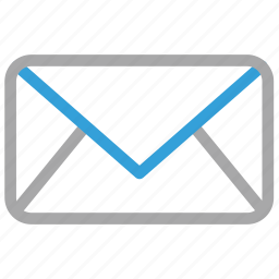 envelope, letter, mail, message sign icon