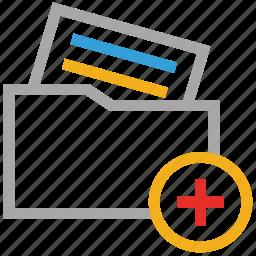 add folder, file folder, folder, new folder icon