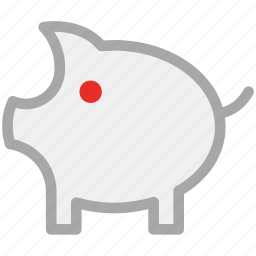 finance, piggy, piggy bank, savings icon
