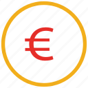 euro sign, currency sign, euro, finance