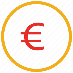 currency sign, euro, euro sign, finance icon