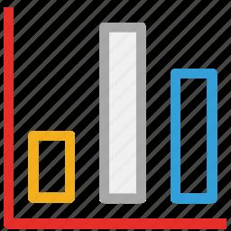 analytics, bar, graph, report, statistics icon