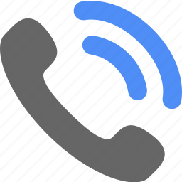 blue, call, contact, phone, ring, ringing, telephone icon