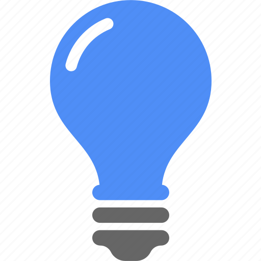 bulb, creative, light icon