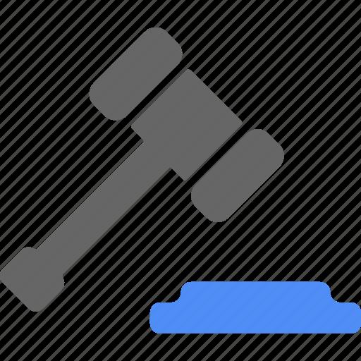 finance, hammer, law, lawyer icon