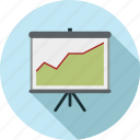 increase, presentation icon