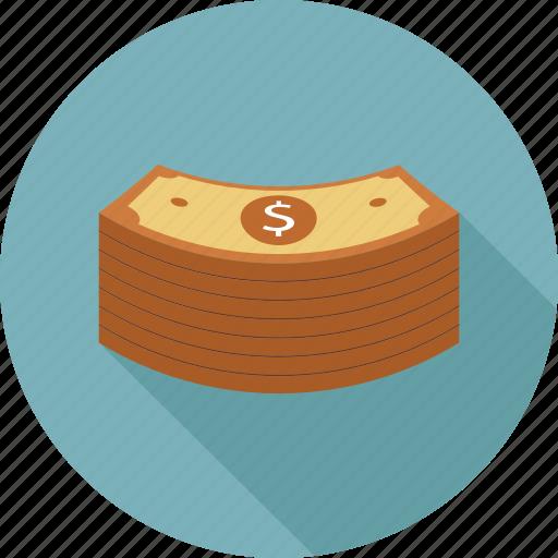 money, stack icon