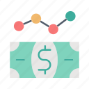 business, dollar, financial, money icon