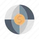 financial, global, money, payment icon