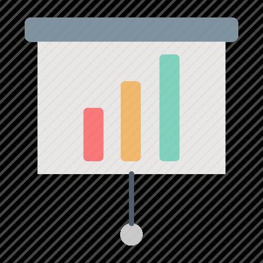 conference, financial, presentation, report icon