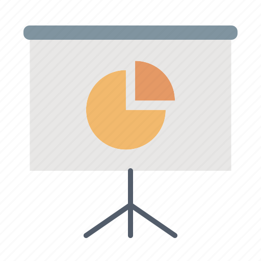 financial, presentation, report, statistics icon