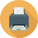 copier, copy machine, fax, printer icon