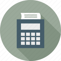 accounting, punch card icon