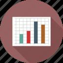 budget, graph icon