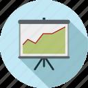 data, presentation icon