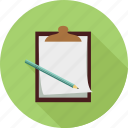 clipboard, notes icon