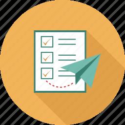 checklist, to do icon