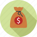 money, money bag, sack of money icon