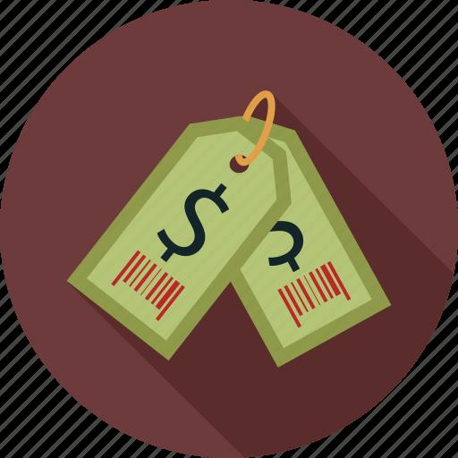 price, price tag icon
