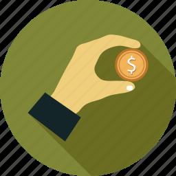 coin, microtransaction icon