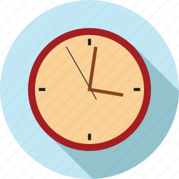 clock in, time icon