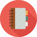 notebook, planner icon