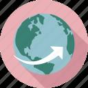 around the world icon