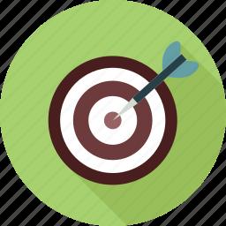 bulls eye, target icon