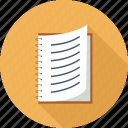 script, syllabus icon
